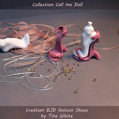 "BJD shoes design (collection ""Call me doll"") Tags: tinawhite sculpt legitbjd collectionbjd artistcast fashiondoll inspire creative resindoll bjddoll dollmaker collectiblebjd ooakartdoll artdoll bjdartist handmade balljointeddoll bjd collectioncallmedoll tinawhitebjd portrait shoesdesign bjdshoes"