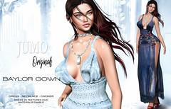 Baylor Gown (junemonteiro) Tags: jumo originals chic mesh glamour gown maitreya belleza slink