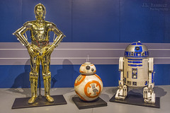 Star Wars & the Power of Costume - Droids of the Rebellion (J.L. Ramsaur Photography) Tags: jlrphotography nikond7200 nikon d7200 photography photo cincinnatioh thequeencity hamiltoncounty ohio 2017 engineerswithcameras thequeenofthewest photographyforgod thesouth southernphotography screamofthephotographer ibeauty jlramsaurphotography photograph pic cincinnati tennesseephotographer cincinnatiohio thebluechipcity nati thecityofsevenhills queencity porkopolis thenati nastynati cincy starwarsandthepowerofcostume starwars thepowerofcostume smithsonianinstitutiontravelingexhibitionservice lucasmuseumofnarrativeart lucasfilmltd costume powerofcostume exhibit anewhope returnofthejedi theempirestrikesback revengeofthesith thephantommenace attackoftheclones theforceawakens rogueone starwarscharacters characters cincinnatimuseumcenter theforce maytheforcebewithyou empire rebels rebellion thedarkside jedi goodvsevil galacticsenate thelastjedi droidsoftherepublic droidsoftherebellion c3po r2d2 bb8 droids astromechs robots astromechdroids protocoldroid droidsoftheresistance