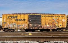 (o texano) Tags: houston texas graffiti trains freights bench benching meeka a2m adikts