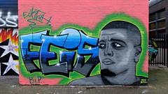 Schuttersveld - R.I.P. Feis (oerendhard1) Tags: graffiti streetart urban art rotterdam oerendhard crooswijk schuttersveld rip feis rapper topcat eckte
