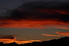 Sunset 12 23 18 #08 (Az Skies Photography) Tags: sunset sun set dusk twilight nightfall sky skyline skyscape cloud clouds red orange yellow gold golden salmon black december 23 2018 december232018 122318 12232018 rio rico arizona az rioricoaz arizonasky riorico arizonaskyline arizonaskyscape canon eos 80d canoneos80d canon80d eos80d