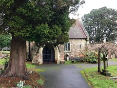 Lyndhurst Cemetery Chapel (Marc Sayce) Tags: yew tree cemetery chapel boltons bench lyndhurst hampshire new forest national park winter january 2019 notrealtags bikini speedo topless naked nude milf