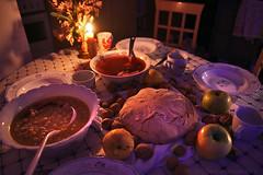 Jan 6th 2019 - Serbian Christmas Eve. (Tanjica Perovic) Tags: orthodoxchristianity christmas easternorthodox serbianorthodoxchurch serbianorthodox serbia serbian srbija pirotsrbija dinner бадње вече