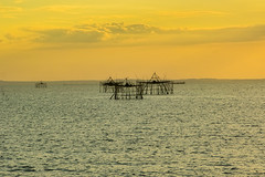 Early Sunset (Beegee49) Tags: street sunset seascape sea baywalk bacolod city philippines
