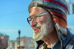 My Friend Peter (Adventure George) Tags: acdseepro albany albanycounty americancity february humaninterest newyorkstate newyorkstatecapital nikond750 photogeorge portrait streetshot upstatenewyork urbanscene us usa westernnewyork winter newyork unitedstatesofamerica