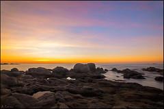 Despierta el día. (antoniocamero21) Tags: amanecer color foto sony marina brava costa calella palafrugell girona catalunya rocas