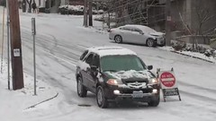 Seattle February 2019 Snowstorms - prep and response (Seattle Department of Transportation) Tags: seattle sdot transportation seattledot snow february 2019 snowpocalypse storm response car street closed sign danger dontdoit hills slippery