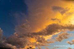 Sunlight in the clouds (Peter.Stokes) Tags: clouds cloudy sunset sunshine sun australia au australasian sky skyscenes colour colourphotography storm