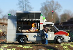 Now what do /you/ want? (captain_joe) Tags: toy spielzeug 365toyproject lego minifigure minifig moc car auto 8wide zombie zombulance foodtruck