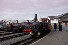 Photo Line up (chrisjc90) Tags: ffestiniog train wales snowdonia heritage ffwhr