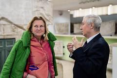 Karin Kneissl in Bukarest