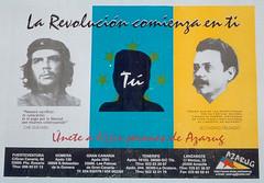 La revolución comienza en ti (micky the pixel) Tags: plakat poster cheguevara secundinodelgado canariannationalism amazighism berberism politik azarug lanzarote aricife kanarischeinseln spanien spain