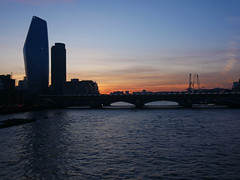 Blackfriars sunset (Matt C68) Tags: london city bridge river thames riverthames sunset blackfriars panasonic lumix gx80 olympus 918mm