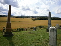 West Church Cemetery 2 (ScienceLives) Tags: west church cemetery nottawasaga nottawa blue mountain scenery view cleariew township farm sky grass gravestones headstones