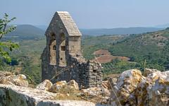 Château d'Aumelas - Chapelle (Cyril Ribault) Tags: aumelas hérault occitanie france ruine eglise clocher donjon castellas pentax kr tamron tamronaf18200mmf3563xrdiiildasphericalif