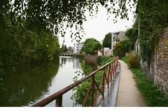 Along the Canals (Caroline Kutchka Folger) Tags: canal ghent belgium europe walking canals travel film 35mm kodakfilm canonrebel analog
