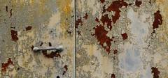 Rusted Through (arbyreed) Tags: arbyreed rust rusty rusted paint peelingpaint old abandoned forgotten rustbucket crusty metal corrosion corrodedmetal rustabstract