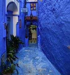 Chefchaouen, Morocco, January 2019 D810 658 (tango-) Tags: chefchaouen bluecity villaggioblu bluevillage morocco maroc 摩洛哥 marruecos марокко المغرب