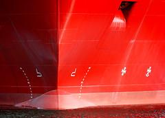 IMG_1878 (bob_rmg) Tags: edinburgh leith sea ship red bow deep discoverer dock