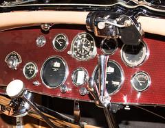 1931 Duesenberg J-345 Disappearing Top Convertible Coupe Dashboard (ksblack99) Tags: duesenberg 1931 coupe disappearingtop convertible automobile classiccar gilmorecarmuseum hickorycorners michigan j345 dashboard