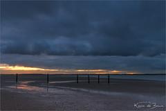 Quiet start! (karindebruin) Tags: maasvlakte nederland noordzee northsea thenetherlands zuidholland beach laagwater lowtide reflectie reflection strand structuren structures