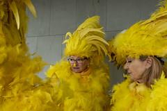 Luzern, Switzerland (marisapopovic) Tags: carnival switzerland yellow luzern streetphotography