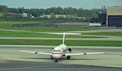 Just Off The Runway (craigsanders429) Tags: twa transworldairlines portcolumbusairport johnglenncolumbusinternationalairport aircraft airlines airliners airplanes airports dc9 columbusohio jet jetliner