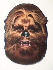 Wookie - C-3POs Cereal Box Premium Star Wars Mask 8563 (Brechtbug) Tags: chewbacca wookie c3pos cereal box reverse side back cover free premium cut out cardboard star wars mask storm trooper from 1984 80s 1980s vintage paper card board kellogg kelloggs halloween holiday science fiction robot disguise syfy scifi space opera nyc 2018