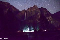 Yosemite Falls (Long Exposure Art (L~EX~A)) Tags: yosemite nationalparks nationalpark waterfall yosemitefalls longexposure stars astrophotography nikon tamron tamron18400 nikond5300