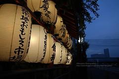 Tokyo, Tsukiji fish market (blauepics) Tags: japan nippon tokyo tokio city stadt houses architecture architektur captial hauptstadt building gebäude tsukiji fish market fischmarkt lights lichter ilumination beleuchtung night nacht letters buchstaben honshu
