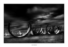 Jumble... (michel di Méglio) Tags: marseille olympus zuiko noiretblanc bw streetart silverefexpro light lumiere ombres shadows
