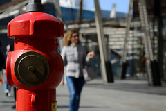 Antincendio (Cagoswky) Tags: antincendio pompieri fuoco milano piazza gae aulenti