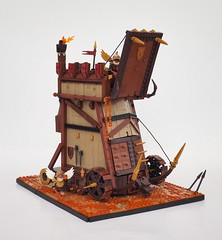 Amaria's Siege (W. Navarre) Tags: lego siege engine battering ram fantasy