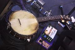 Banjos, Gimbris, etc. [Spike Lutes] 45: Banjo Ukulele (of Ruth Ungar) (KM's Live Music shots) Tags: musicalinstrument hornbostelsachs chordophone banjoukulele ruthungar themammals drygatebrewery
