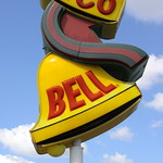 Vintage Taco Bell sign - Savannah, GA thumbnail