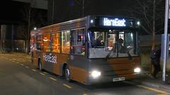 The Spare (londonbusexplorer) Tags: goahead london dennis dart mpd plaxton pointer ldp186 y986tgh 847 stratford hereeast shuttle bus buses