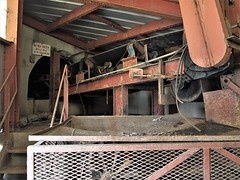mine mouth (photography_isn't_terrorism) Tags: mine coalmine coal conveyor abandoned rust rusted rusty underground