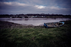 Cultural memories...... (Dafydd Penguin) Tags: cultural memories boats wreck abandonned river grass winter isolated wooden water sea tidal boatyard footoath somerset bristol west country leica m10 elmarit 21mm f28