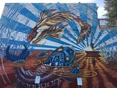 another fun Baltimore mural (karma (Karen)) Tags: baltimore maryland remington murals urbanart fences hff cmwd topf25