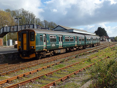 150247 Par (2) (Marky7890) Tags: gwr 150247 class150 sprinter 2n08 par railway cornwall cornishmainline train