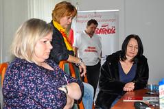 Głodówka nauczycieli w Kuratorium w Krakowie (Solidarnosc Region Malopolski) Tags: głodówka solidarnosc nauczyciele krakow oświata małopolska kuratorium