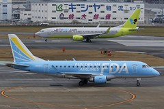 JA02FJ FUK 16.12.2018 (Benjamin Schudel) Tags: fuk fukuoka international airport japan fda fuji dream embraer erj emb ja02fj