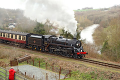 75069 BR Standard 4 (1955) (Roger Wasley) Tags: 75069 br standard 4 highley svr british railways severn valley river station heritage preserved preservation steam locomotive trains engine