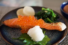 Grilled Salmon (YUICHI38) Tags: salmon japanesefood homemade salmonroe breakfast