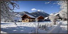 Alpine Paradise (watbled05) Tags: architecture branche ciel cristaux extérieur givre hautesalpes montagne neige ombre paysage rochers sentier vallouise