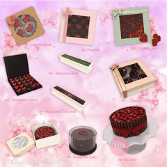 {YD}Pampering valentine's day - Gacha ({Your Dreams}) Tags: yourdreams newdecoration cute valentinesday candy chocolate cookies