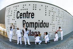 Feminist performance (Javier Palacios Prieto) Tags: centre pompidou malaga feminist performance
