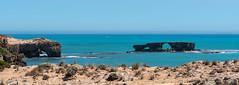 Robe South Australia (Helen C Photography) Tags: ocean water beach shore blue south australia southaustralia landscape summer nikon d750 105mm rocks land cliffs rugged formation