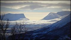 Lapporten (Abisko, Sweden) (armxesde) Tags: pentax ricoh k3 schweden sweden abisko norrbotten lappland lapland winter snow schnee tree baum lapporten berg mountain wolke cloud